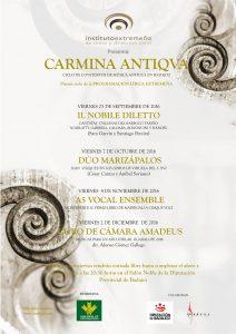 cartel-ciclo-carmina-antiqva