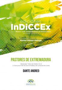 """Portada de """"Pastores de Extremadura""""de Dante Andreo"""