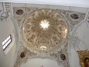 cupula capilla del carmen